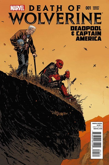 Death of Wolverine - Deadpool & Captain America